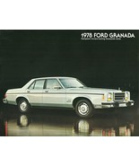 1978 Ford GRANADA sales brochure catalog US 78 Ghia ESS - $6.00