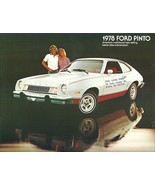 1978 Ford PINTO sales brochure catalog US 78 Squire Cruising Wagon - $8.00