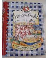 Recipes for Comfort Gooseberry Patch cookbook 2000 spiral hardcover food - $11.45