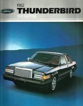 1982 Ford THUNDERBIRD sales brochure catalog US 82 Heritage Town Landau - $8.00