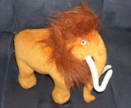 "Ice Age 2 MANNY The Wooly Mammoth Plush 2005 Mattel 12"" long - $9.96"