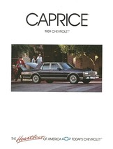 1989 Chevrolet CAPRICE brochure catalog 89 US Chevy Classic Brougham LS - $8.00