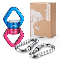 AusKit Swing Swivel, 30 KN Pulley, Safest Rotational Device Hanging Acce... - $37.06