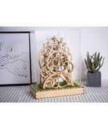 3D Assembly Puzzles Wooden Decor Pendulum Clock Model Kit Best Toys for ... - $63.74