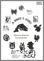 A Baker's Dozen- 13 Patterns for Scroll Saw by OTB Patterns - $10.95