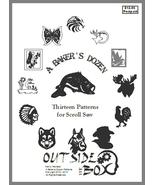 A Baker's Dozen- 13 Patterns for Scroll Saw by OTB Patterns - $10.95
