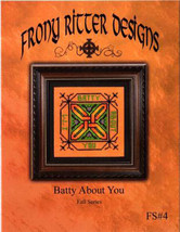 Happy Fall Pumpkin Ornament cross stitch chart Frony Ritter Designs  - $3.60