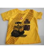 3T Wall-E Wall E Short Sleeve Yellow T-Shirt - $4.25