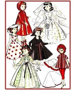 "Vintage Pattern for 10 1/2"" High Heel Fashion Dolls No. 1 - $7.99"