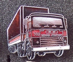 Old Seddon Atkinson 300 Tractor Truck Lapel Pin Pinback - $9.95