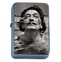 Salvador Dali Young Black And White Oil Lighter 470 - $13.48