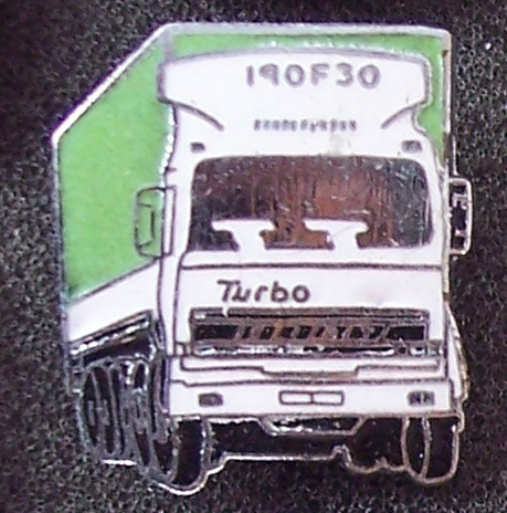 Old FIAT Turbo 190F30 Tractor Truck Lapel Pin Pinback
