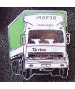 Old FIAT Turbo 190F30 Tractor Truck Lapel Pin Pinback - $9.95