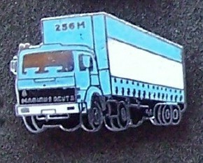 Old Magirus Deutz 256M Tractor Trucks Lapel Pin Pinback