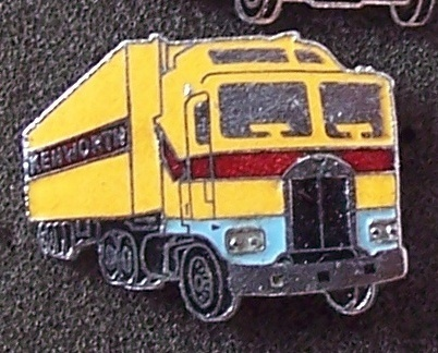 Old Kenworth Tractor Trucks Lapel Pin Pinback