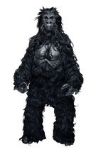 Hairy Gorilla Monkey Mascot Professional Costume Party Ape Prop - £97.83 GBP