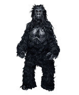 Hairy Gorilla Monkey Mascot Professional Costume Party Ape Prop - $128.69