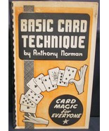 Basic Card Technique by Norman Anthony - $22.74