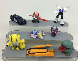 Transformers Skyblast Starscream Toy Action Figures Topper Lot 8pc Mcdonalds A6 - $10.84