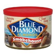 Blue Diamond Smokehouse Almonds 6oz Can - $7.87