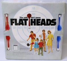 Vintage 1975 FLATHEADS The Safe Dart Board Game Set, SEALED Packaging!! - $20.00