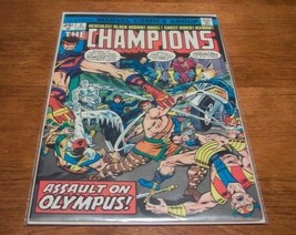 THE CHAMPIONS #3 COMIC BOOK Ghost Rider 1975 Marvel - $14.85