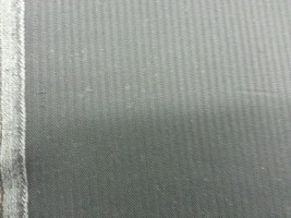 Navy Blue HeringBone Italian All Wool Worsted suiting fabric 5 Yards - $67.31