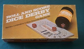 Roll And Score Dice Derby Game E S Lowe 1977 Complete VGC - $9.00