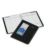 "DayMinder Recycled Weekly Planner, Jan.-Dec., Black, 6 7/8"" x 8 3/4"", 2015 - £13.93 GBP"