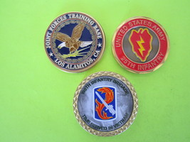 3 Army CHALLENGE--198TH Infantry BRG,--LOS Alamitos TR.BASE-25TH Infantry DIV.-L - $17.90