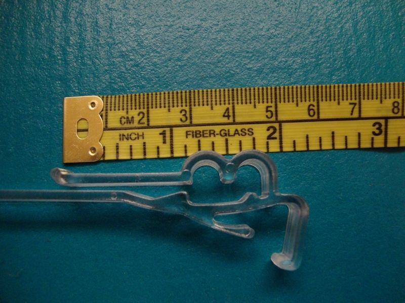 "10 QTY: 3"" Wrap Around Replacement Valance clips for Horizontal/Venitian Blinds"