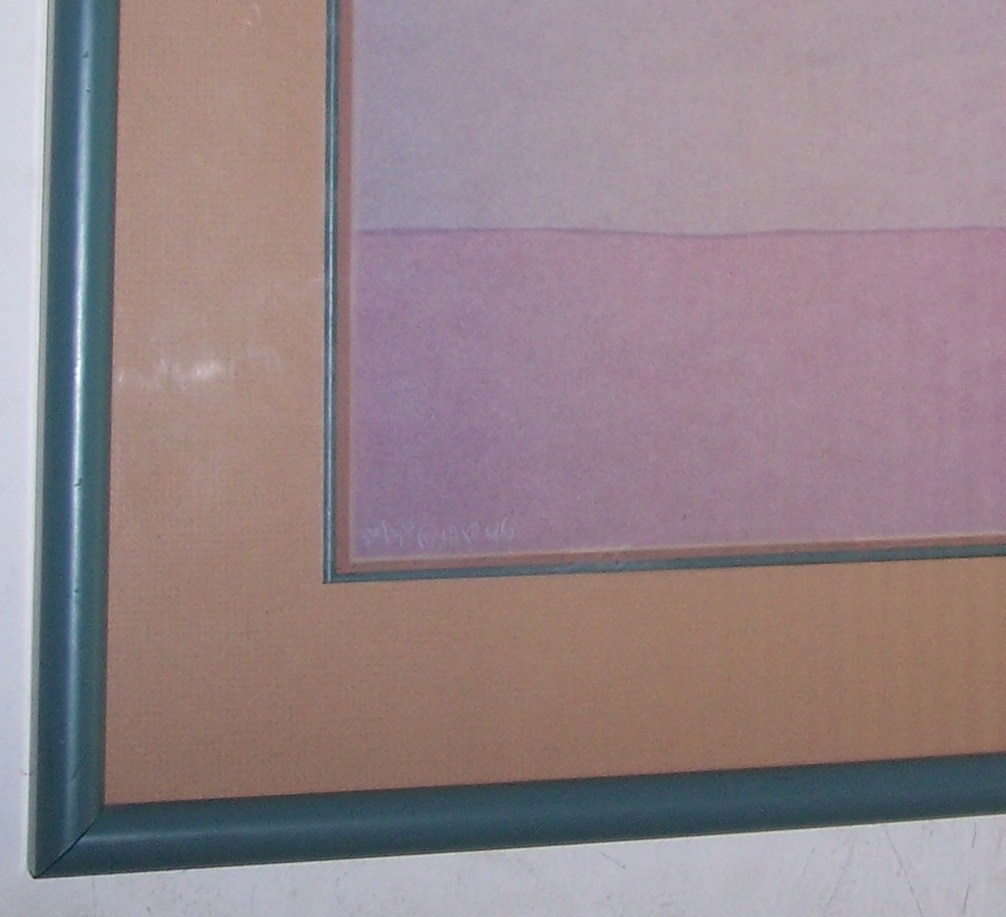 """1980 Amado M. Pena Jr. """"La portadora Del Agua"""" Limited Edition Serigraph 26/30 C"""