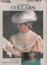 Crocheted Collars 6 Designs Leisure Arts #446 - $8.99