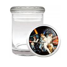 Star Wars Luke Leia Han Solo Darth Vader Medical Glass Jar 196 - $14.48