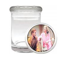 Tab Hunter, Tallulah Bankhead Medical Glass Jar 482 - $14.48