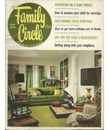Family Circle June 1965 Magazine - $16.95
