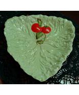 1920's - 40's CARLTON WARE Lettuce & Tomato Bowl Triangular Australian D... - $19.99