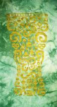Tribal Beer monochrome cross stitch chart White Willow Stitching - $7.20