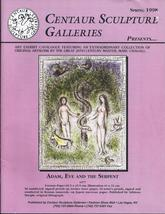CENTAUR SCULPTURE GALLERIES Presents MARC CHAGALL  Spring 1998 - $23.95