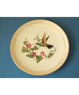 Vintage 1980 Edward Boehm Pictorial Broad-billed Hummingbird Lenox Plate  - $20.00