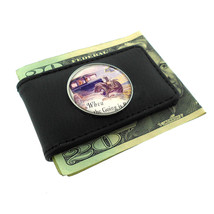 Chevrolet 1920s Vintage Ad Money Clip Leather 030 - $12.48