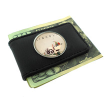 Lincoln Car 1920s Vintage Ad Money Clip Leather 431 - $13.95