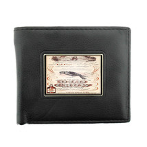 Old Crow Kentucky Whiskey Vintage Ad Bifold Wallet 026 - $12.48