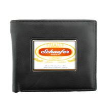 Schaefer Beer Vintage Ad Bifold Wallet 566 - $12.48