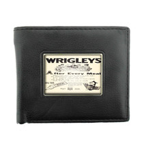 WRIGLEY'S CHEWING GUM VERY EARLY RETRO AD Bifold Wallet 561 - $12.48