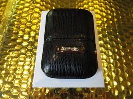 S.T.Dupont black leather  case  model no. 180324 - $215.00