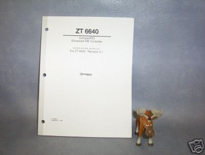 Ziatech Corp Hardware Manual For ZT 6640 _____J11