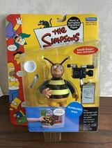 Playmates Toys Simpsons Series 5 Bumblebee Man Action Figure - $19.95