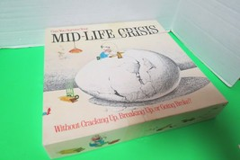 Vintage 1982 Mid Life Crisis Board Game By Game Works Complete In Box - $19.75