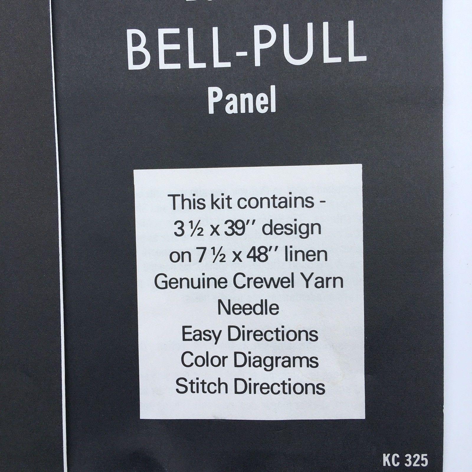 Vintage Elsa Williams Fruit Bell Pull Panel And 13 Similar Items